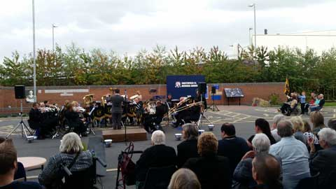 Ireland Colliery Chesterfield Brass Band