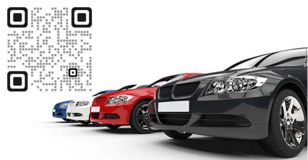 car sales qr codes