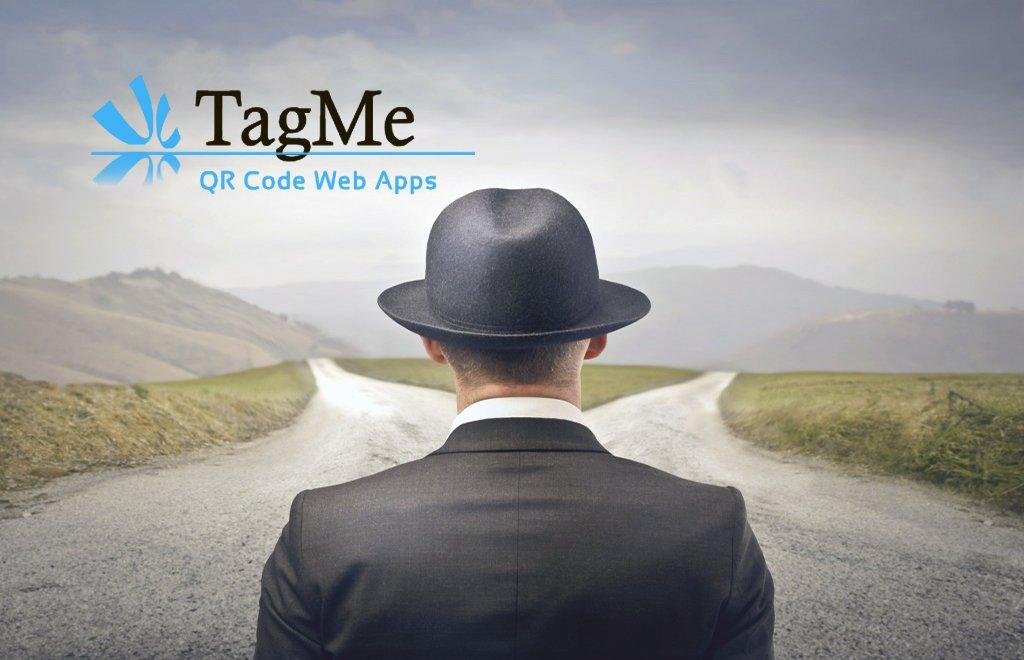 TagMe Qr code logo